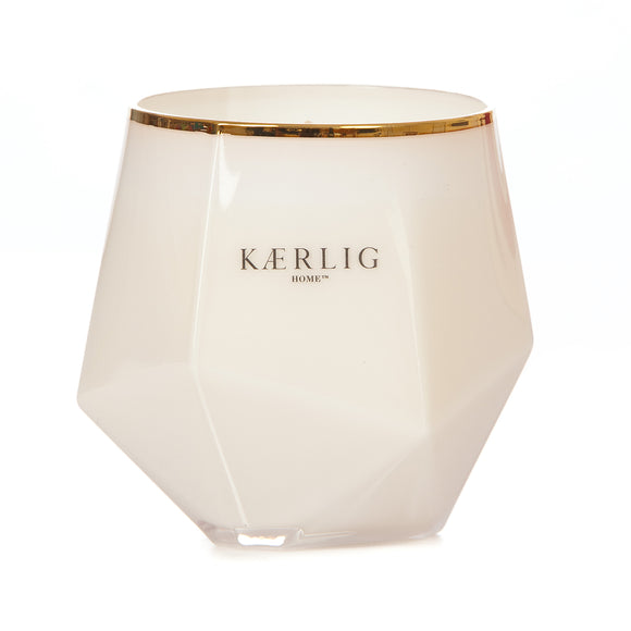 Amber Luxury Picasso Candle - White Vessel