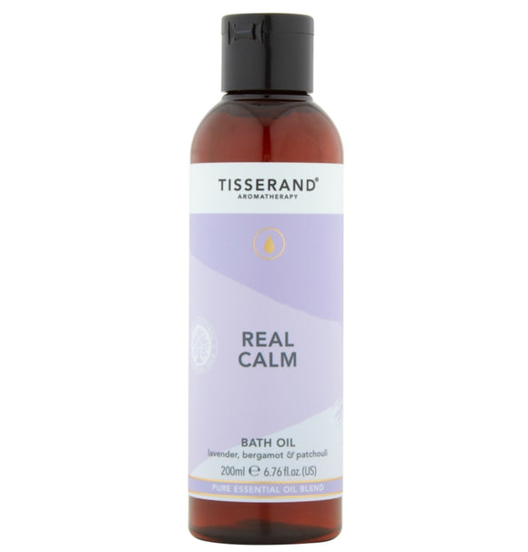 Tisserand Real Calm Bath Oil - 200ml