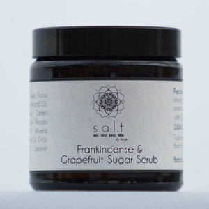 Frankincense and Grapefruit Sugar Scrub
