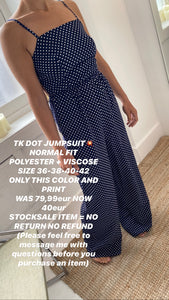 TK DOT JUMPSUIT