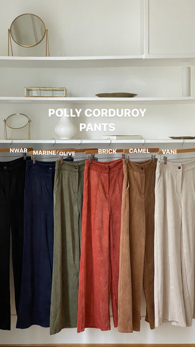 POLLY CORDUROY PANTS