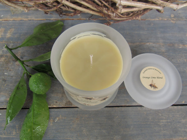 Natural scented Beeswax Coconut Candles, Guest blog by Marijke Frowijn.