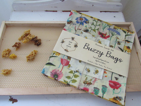 buzzy bags beeswax wraps