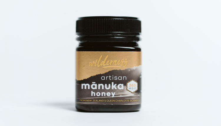 Wilderness MGO 265+ Manuka Honey