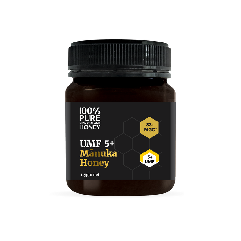 100% Pure New Zealand UMF 5+ Manuka Honey