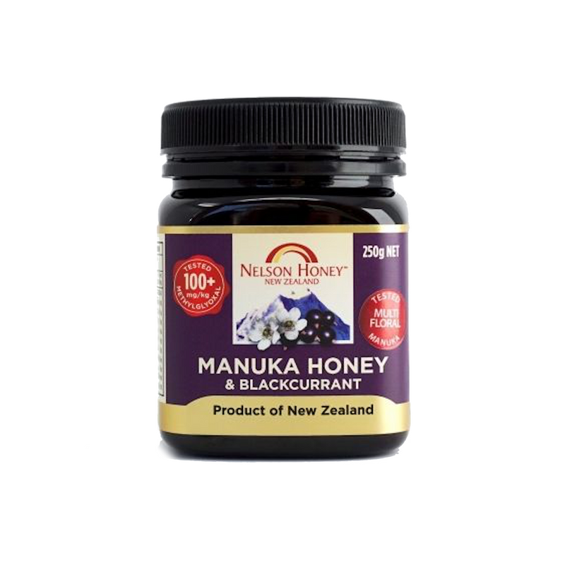 Nelson Manuka Honey & Blackcurrant MGO 100+