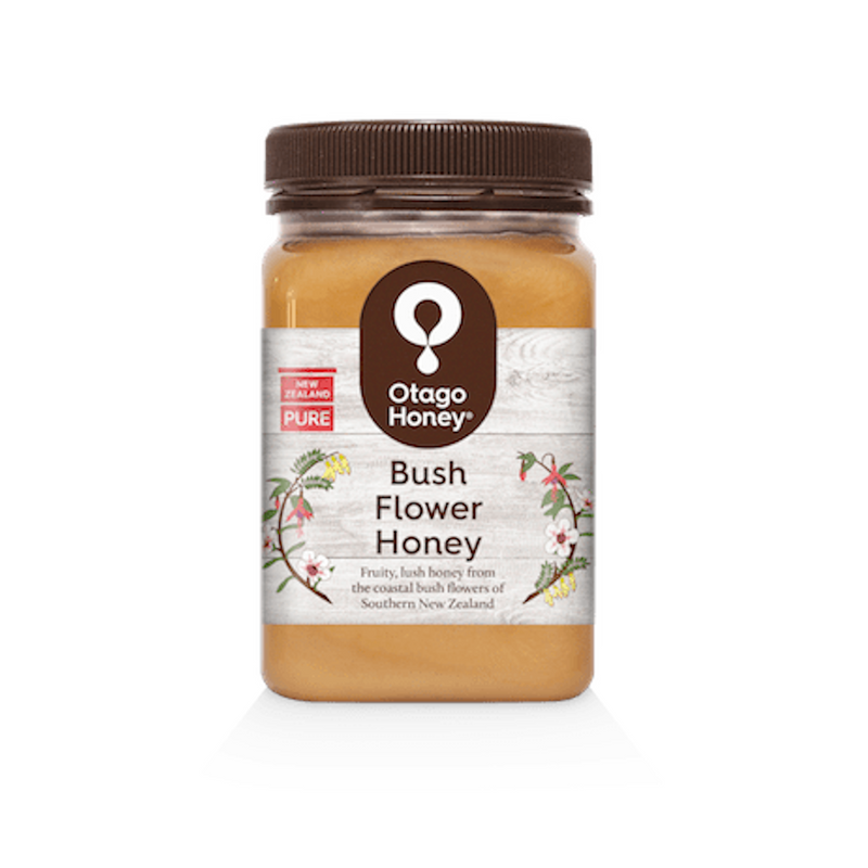 Otago Creamed Bush Flower Honey