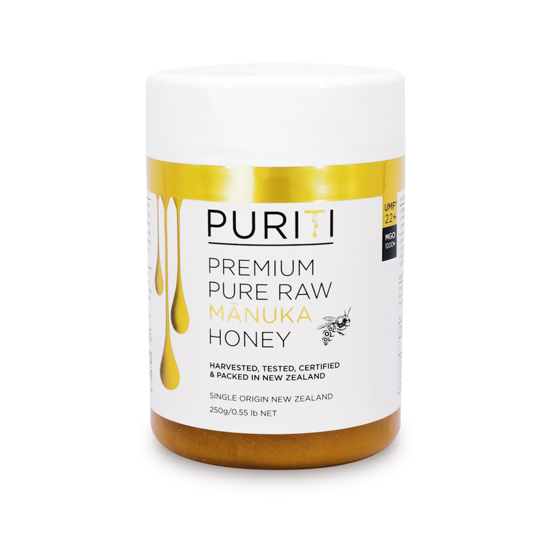 PURITI UMF 22+ Premium Pure Raw Manuka Honey