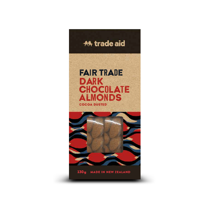 Fair Trade Dark Chocolate Almonds