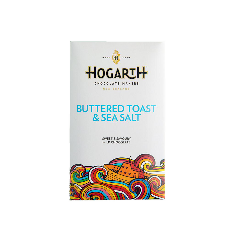 HOGARTH Buttered Toast & Sea Salt Milk Chocolate Bar