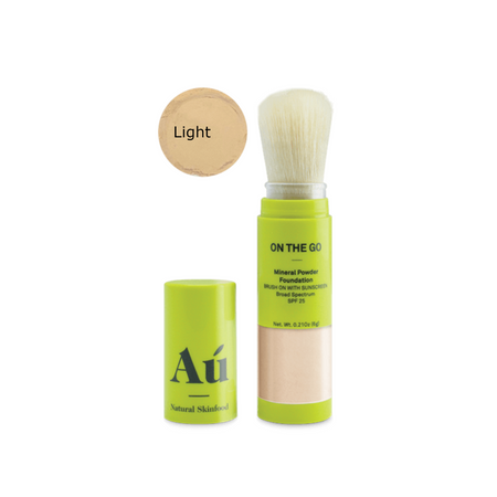 Au. Natural Skinfood On the Go Brush on Mineral Powder Sunscreen SPF 25