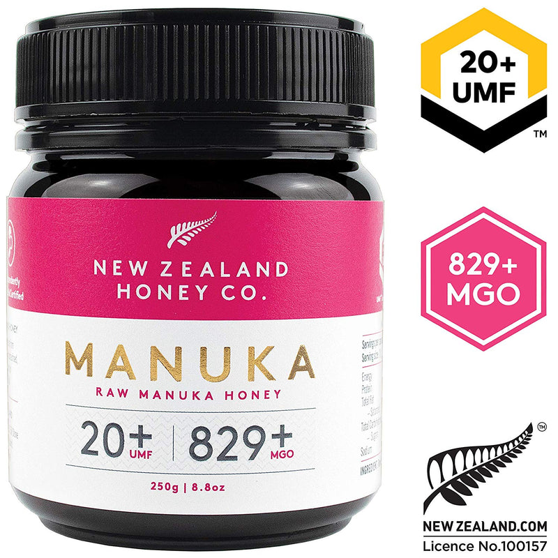 New Zealand Honey Co. UMF 20+ Raw Manuka Honey