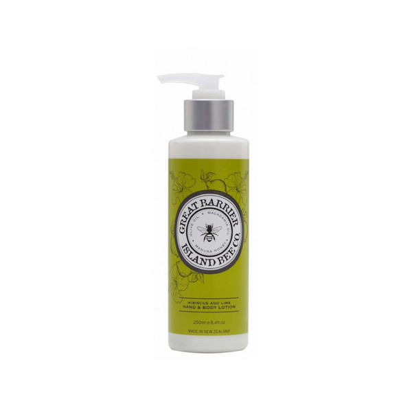 Great Barrier Island Bee Co. Hibiscus & Lime Hand & Body Lotion