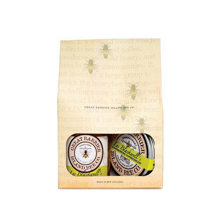 Great Barrier Island Bee Co. Les Blackwell's Gardeners Gift Pack
