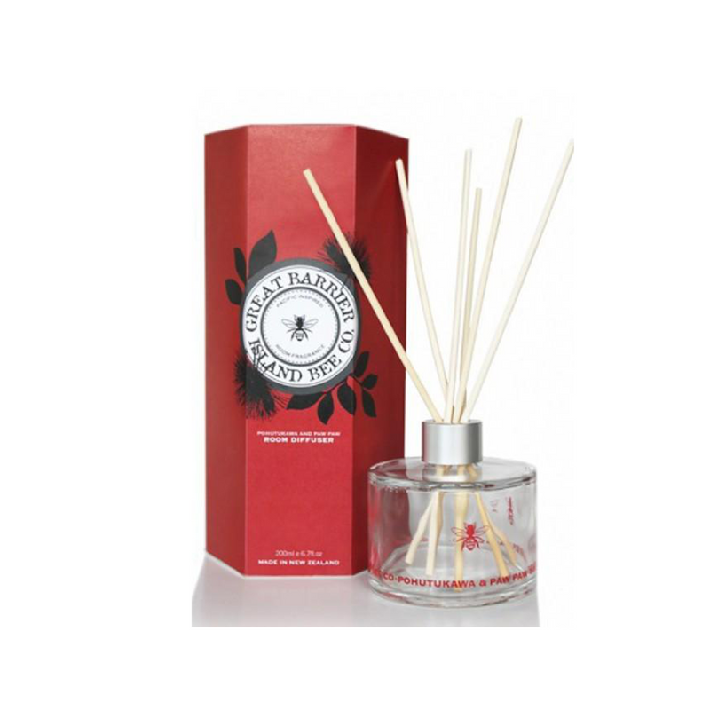 Great Barrier Island Bee Co. Pohutukawa & Pawpaw Diffuser