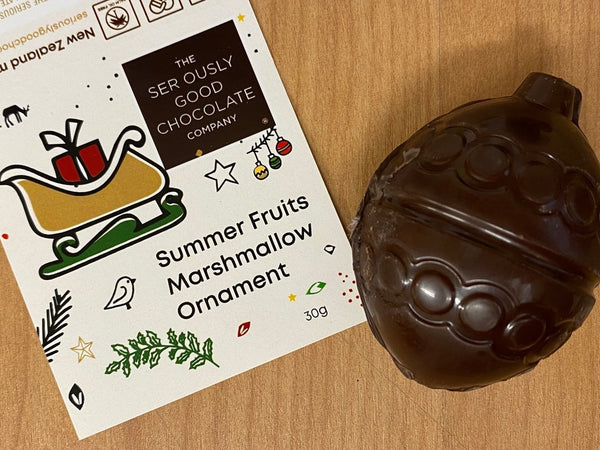 Christmas Summer Fruits Ornament