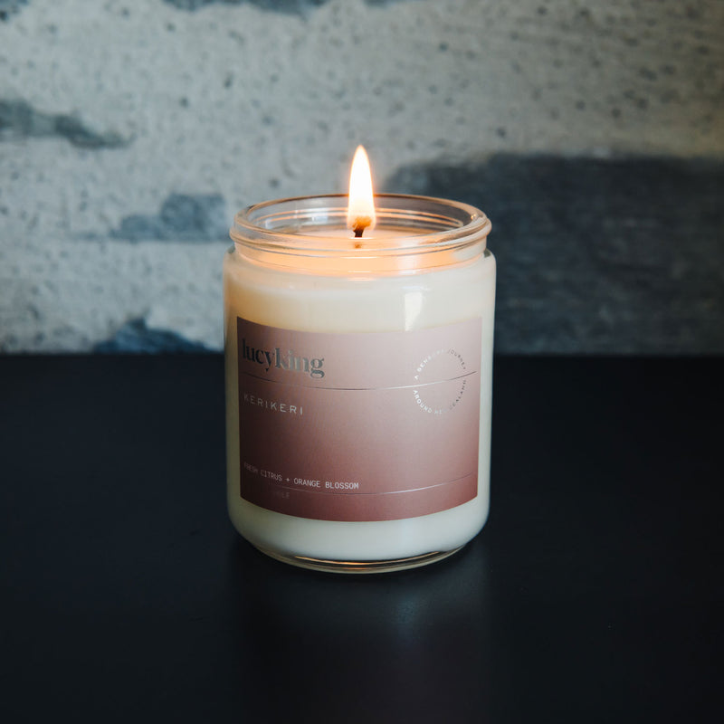 Lucy King Candle - KERIKERI