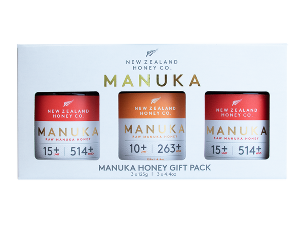 New Zealand Honey Co. Manuka Honey Gift Pack