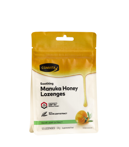 Comvita Manuka Honey Lozenges - Olive Leaf Extract