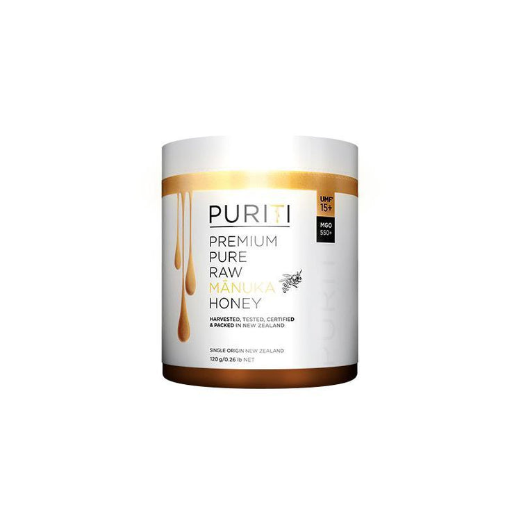 PURITI UMF 15+ Premium Pure Raw Manuka Honey