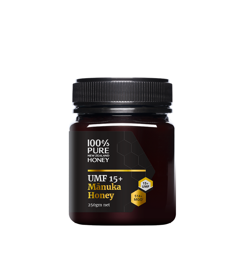 100% Pure New Zealand UMF 15+ Manuka Honey