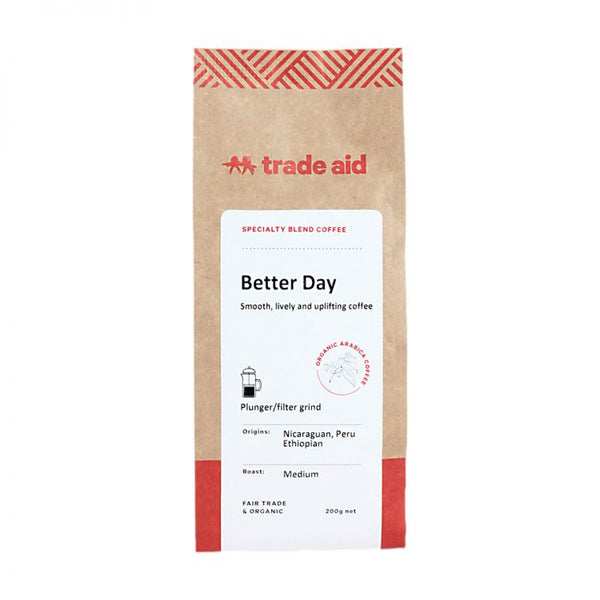 Fair Trade Organic Better Day Blend Coffee - Medium