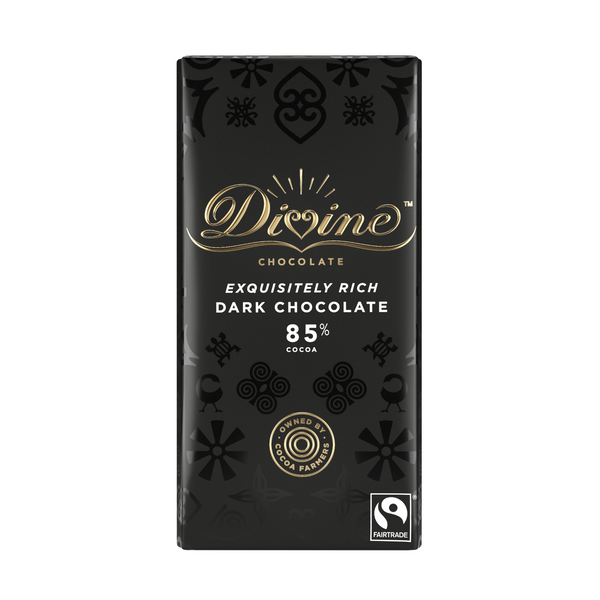 Divine Exquisitely 85% Rich Dark Chocolate