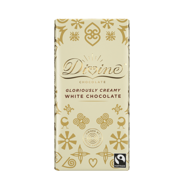 Divine Gloriously Creamy White Chocolate