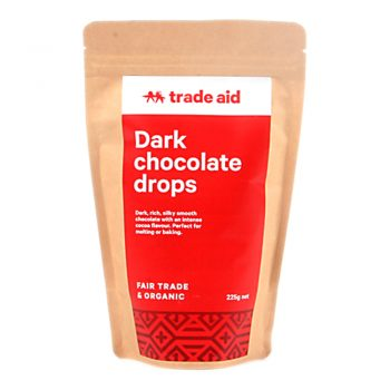 Fair Trade Organic 55% Dark Chocolate Drops