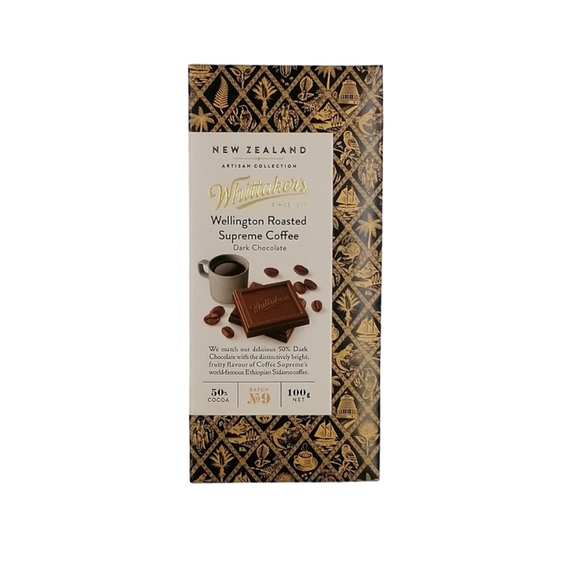 Whittakers Wellintgton Roasted Supreme Coffee Chocolate