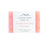 Queenstown Soap - French Pink Clay & Ginger