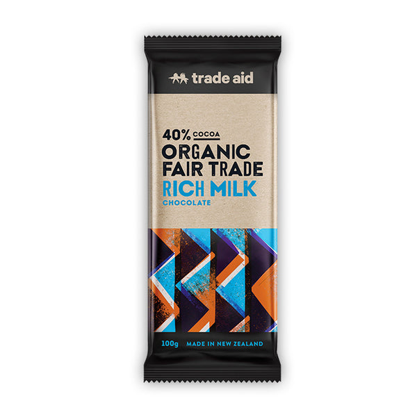 Fair Trade Organic 40% Cocoa Rich Milk Chocolate