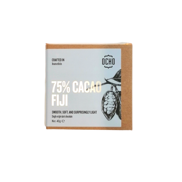 OCHO 75% Cocoa Chocolate Bar Fiji