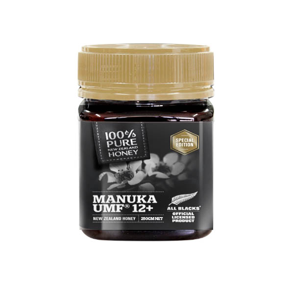100% Pure New Zealand UMF 12+ Manuka Honey All Blacks