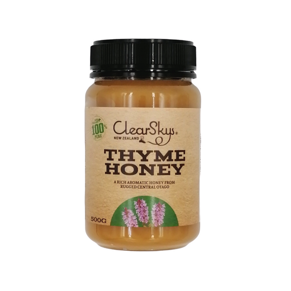 Clearskys Thyme Honey