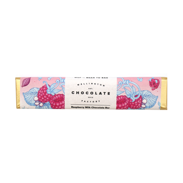 Wellington Chocolate Raspberry Milk Chocolate Bar