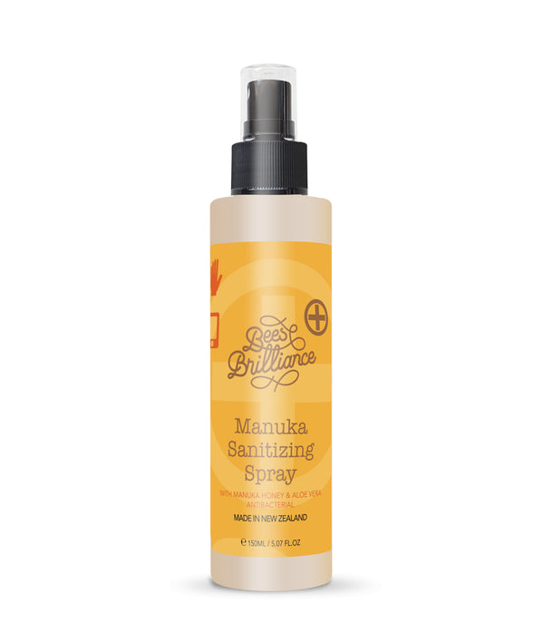 Bees Brilliance Manuka Sanitizing Spray