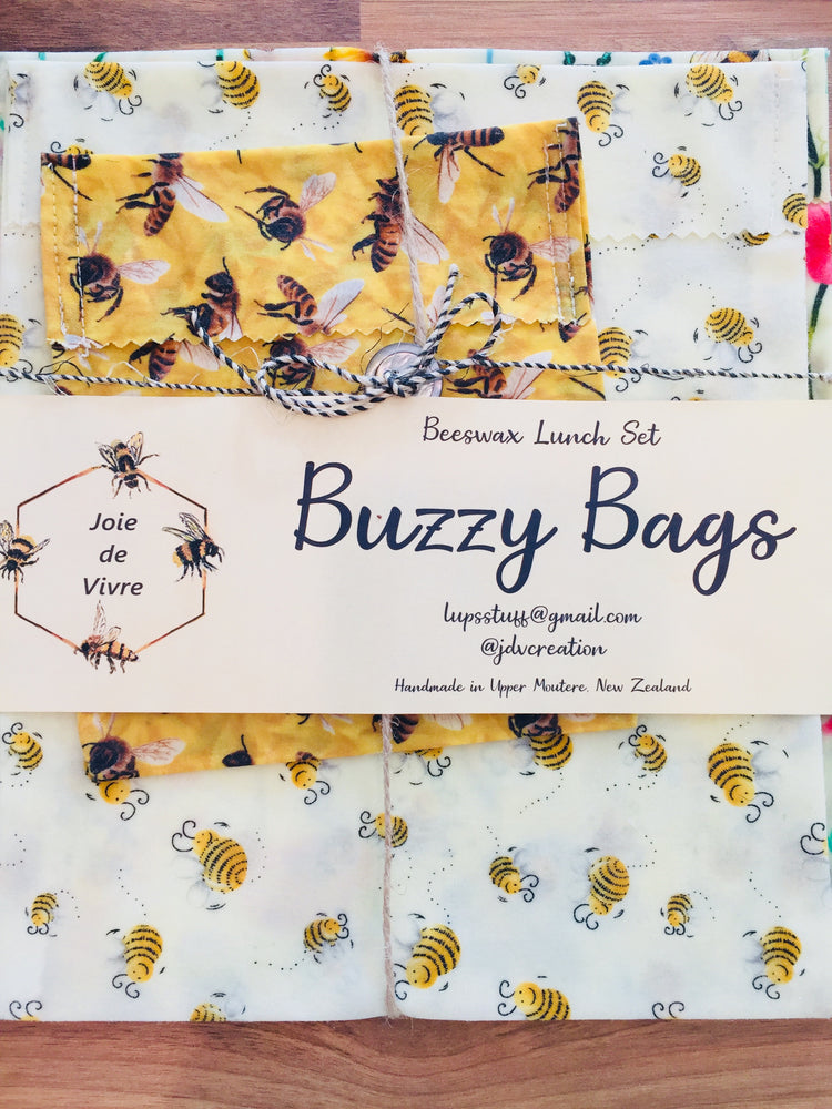 Buzzy Bags - Beeswax Lunch Set