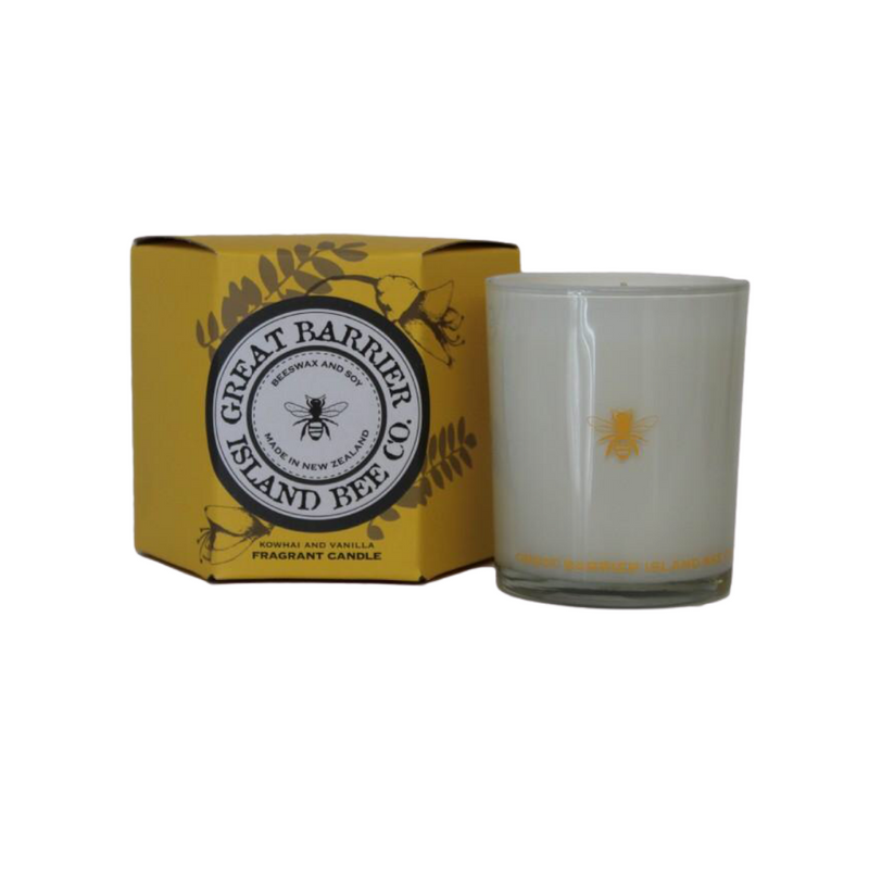 Great Barrier Island Bee Co. Kowhai & Vanilla Candle