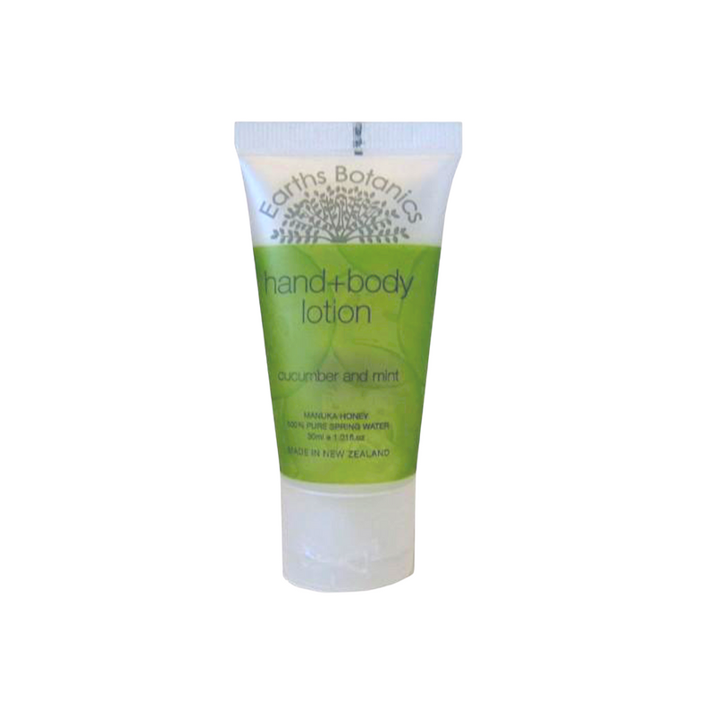 cucumber and mint hand & body lotion 30ml
