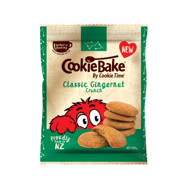 Cookie Time Classic Gingernut Crunch