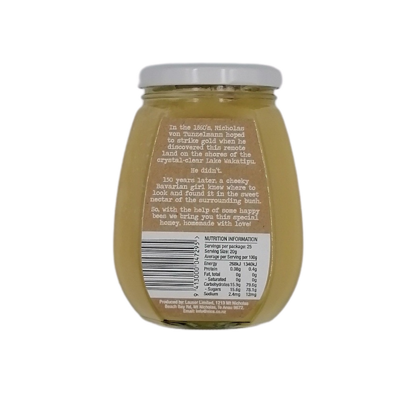 Nic's Gold Mountain Wildflower Honey