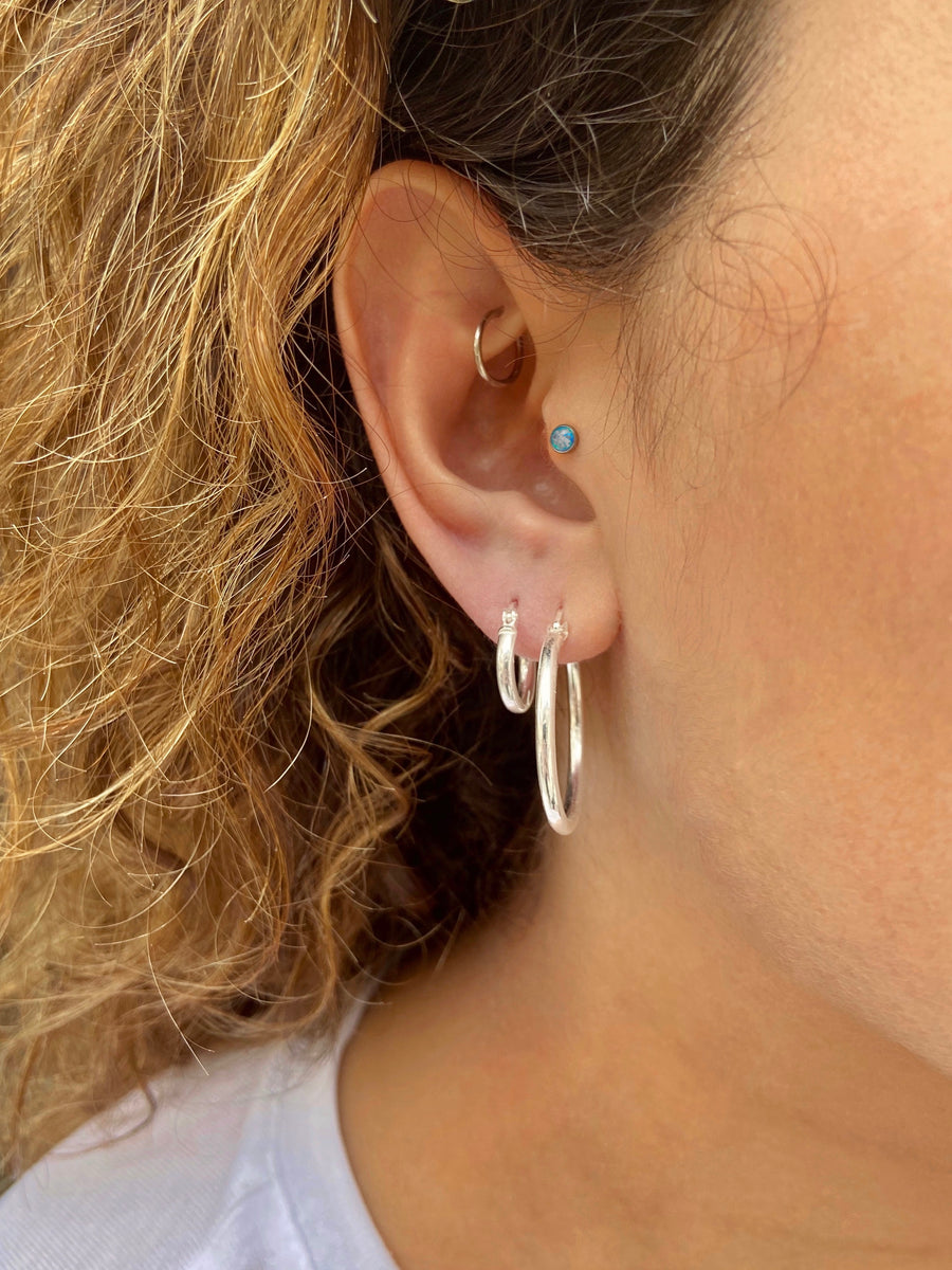 25 mm Hoops - Shemoni Jewelry