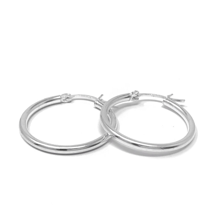 25 mm Hoops - Shémoni Jewelry