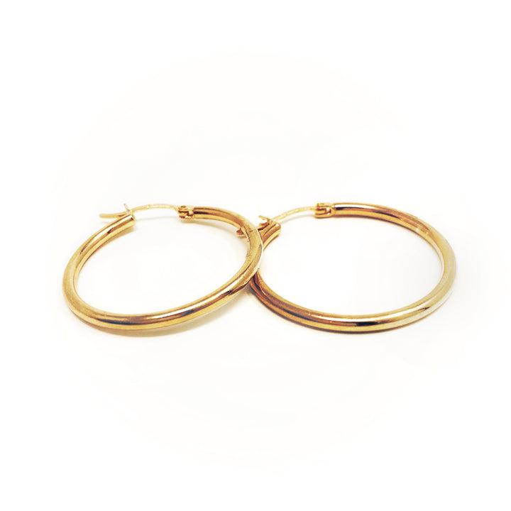 30 mm Hoops - Shémoni Jewelry