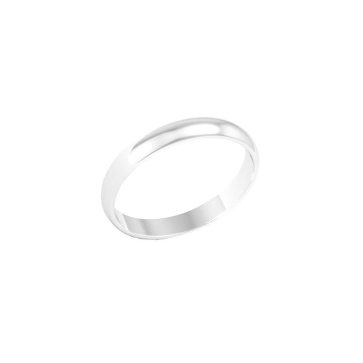 Silver Band Ring - 3 mm - Shemoni Jewelry