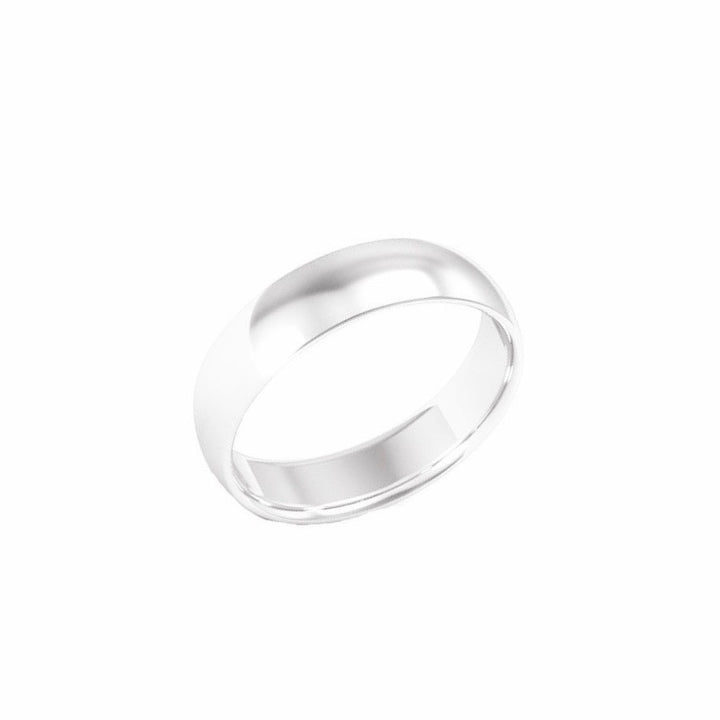 Silver Band Ring - 5 mm - Shemoni Jewelry