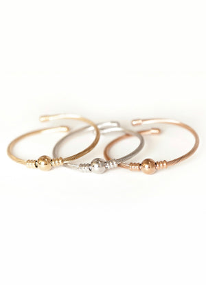 Bodega Bangle Set - Stainless Steel