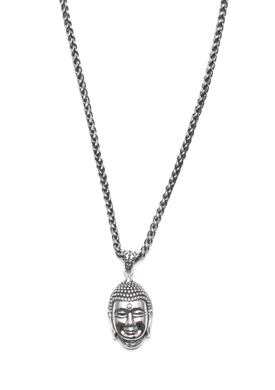 Buddha Necklace - Stainless Steel