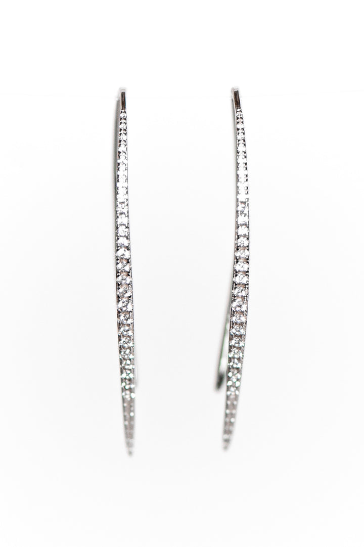 Downtown Earrings - Sterling Silver
